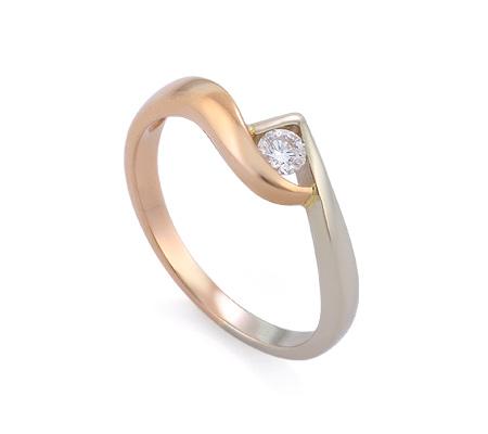 Фото«GZ-0581» Кольцо с бриллиантом