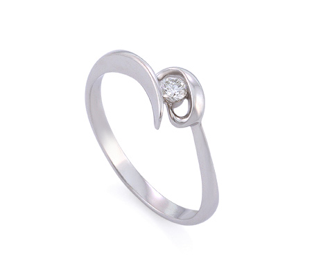 Фото«GZ-1072» Кольцо с бриллиантом