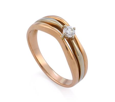 Фото«GZ-1319» Кольцо с бриллиантом