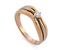 Кольца с бриллиантом; Код: GZ-1319; Вес: 4.38г; 0р.