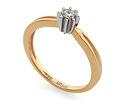 Кольца с бриллиантом; Код: UV-KZ-035NK; Вес: 3.08г; 0р.