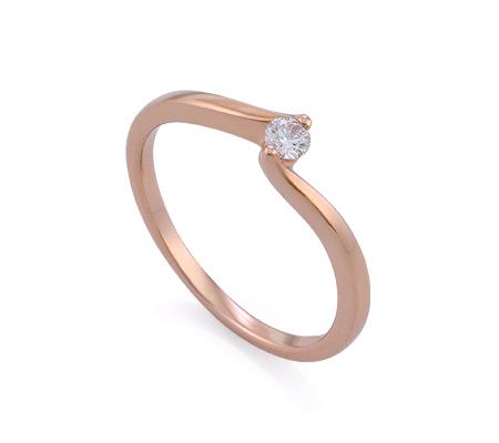 Фото«GZ-113531» Кольцо с бриллиантом