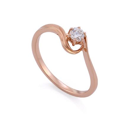 Фото«GZ-214855» Кольцо с бриллиантом