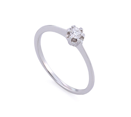 Фото«GZ-113708» Кольцо с бриллиантом