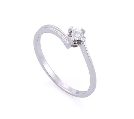 Фото«GZ-113711» Кольцо с бриллиантом