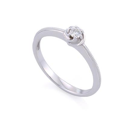Фото«GZ-113712» Кольцо с бриллиантом