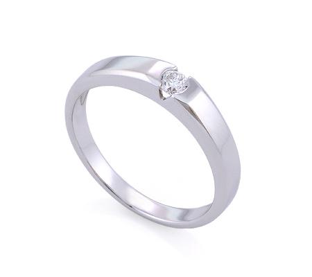 Фото«GZ-114830» Кольцо с бриллиантом