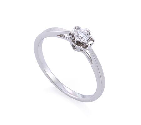 Фото«GZ-214755» Кольцо с бриллиантом