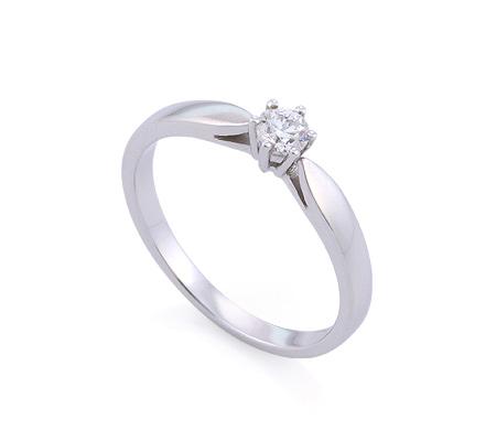 Фото«GZ-214852» Кольцо с бриллиантом