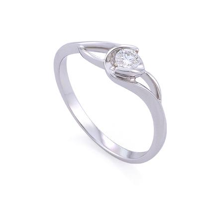 Фото«GZ-214854» Кольцо с бриллиантом