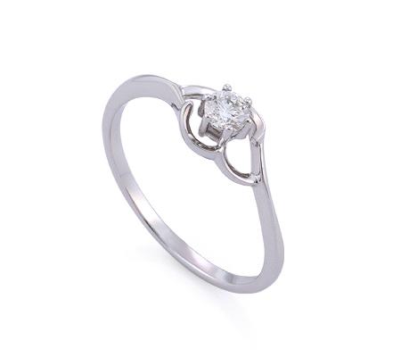 Фото«GZ-214856» Кольцо с бриллиантом