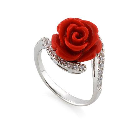 Фото«AS-3562» Кольцо с цирконом серебро