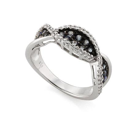 Фото«AS-4340» Кольцо с топазом серебряное