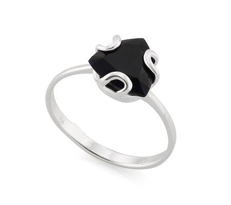 Фото«AS-4380» Кольцо из серебра с сапфиром