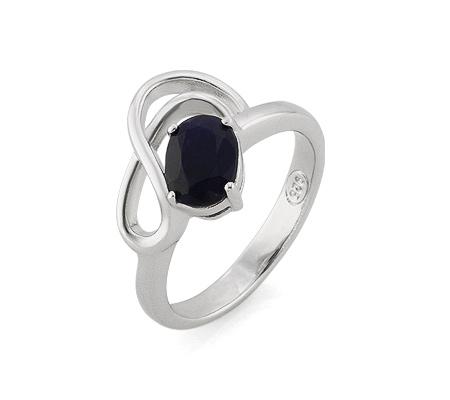 Фото«AS-4566» Кольцо из серебра с сапфиром
