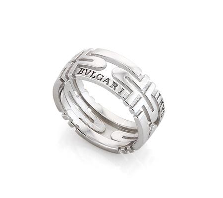 Фото«AS-6368»Кольцо Bvlgari из серебра без вставок