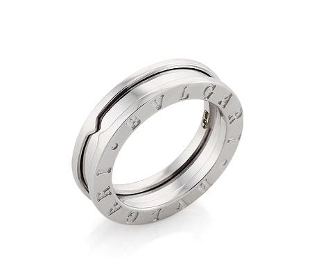 Фото«AS-6420»Серебряное кольцо Булгари Bvlgari копия
