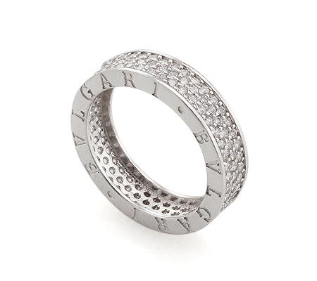 Фото«AS-8248» Кольцо Bvlgari из серебра