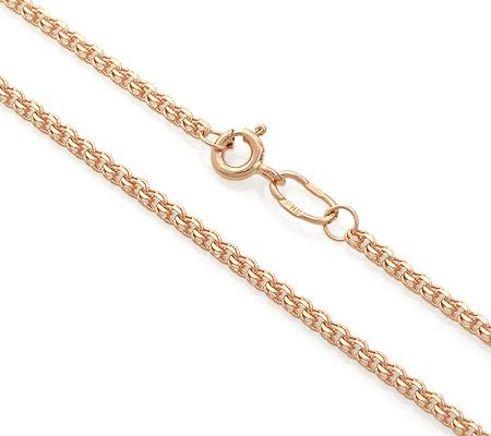Фото«ADF-23551367»Золотая цепь плетение «Гарибальди (Бисмарк)»