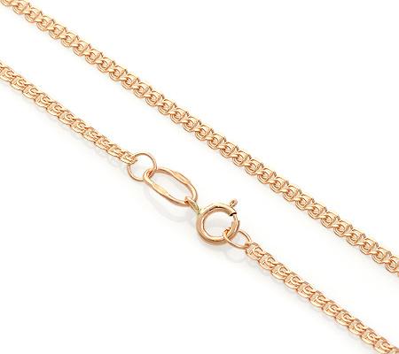 Фото«ADF-13051212»Золотая цепочка плетение «Лав» полновесная