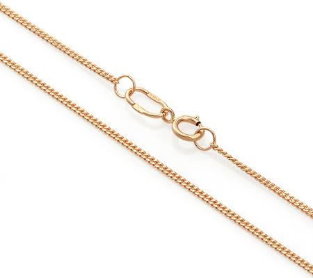 Фото«ADF-13551258»Золотая цепочка «Панцирное» плетение