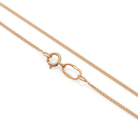 Фото«ADF-22051116»Полновесная цепочка из золота «Панцирное» плетение