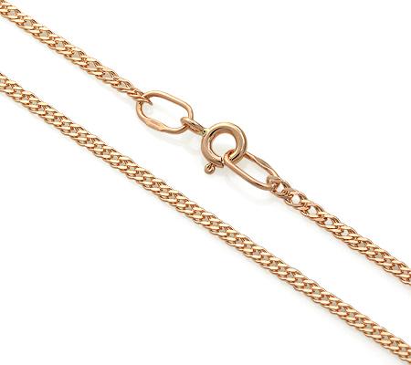 Фото«ADF-23551324»Цепочка плетение «Ромб» из красного золота