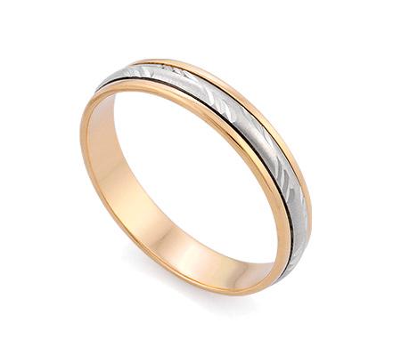 Фото«GZ-0018-407» Обручальное кольцо