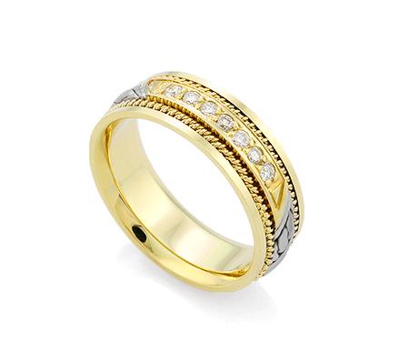 Фото«GZ-0046-658» Обручальное кольцо