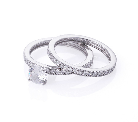 Фото«GZ-2000» Кольцо с цирконом серебро