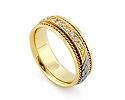 Обручальные кольца с бриллиантами; Код: RG-1566-TS-1; Вес: 7.88г; 0р.