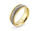 Обручальные кольца парные; Код: RG-1566-TS-BK-1; Вес: 7.58г; 0р.