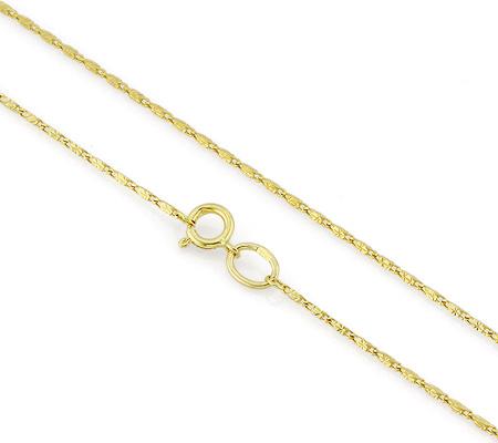 Фото«VGF-4606»Женская цепочка из желтого золота