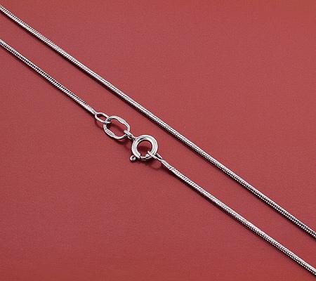 Фото«GZ-5994»Серебряный ювелиный шнурок цепочка «Веревочка»