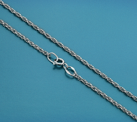 Фото«GZ-5999»Надежная серебряная цепочка «Тройная кордовая»