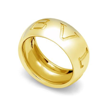 Фото«GZ-8234»Кольцо Булгари из желтого золота бк