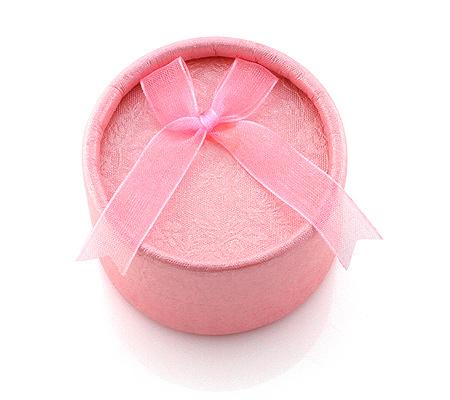 Фото«GZU-003»Картонная коробочка универсальная розовая