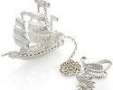 Столовое серебро серебряные ионизаторы; Код: KU-1468; Вес: 22.34г; 2900р.