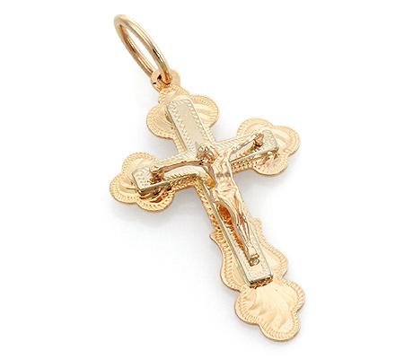 золотые крестики мужские цена фото