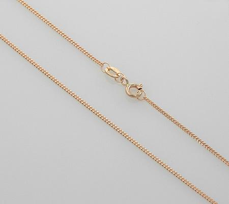 Фото«NCF-12002035»Золотая цепочка «Панцирное» плетение
