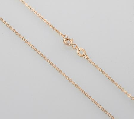 Фото«NCF-120390»Женская золотая цепочка «Якорная гламурная»