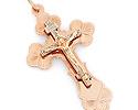 Кресты и крестики мужсике и женские; Код: OS-119; Вес: 6.26г; 0р.
