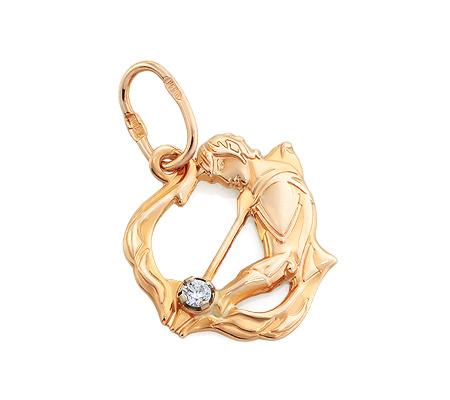 Золотой знак зодиака стрелец