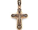 Кресты и крестики ручной работы, с камнями, c эмалью; Код: RG-1817; Вес: 8.91г; 35700р.