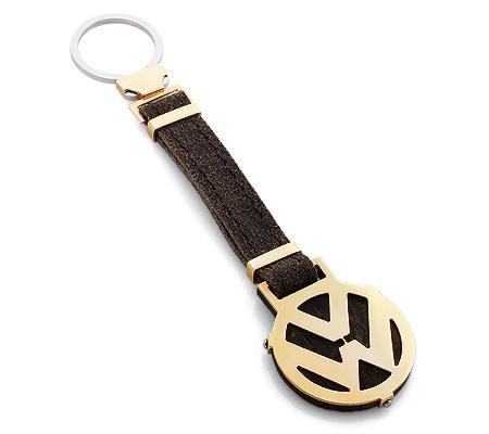 Фото«RG-1886»Золотой брелок для ключей с логотипом «Volkswagen»
