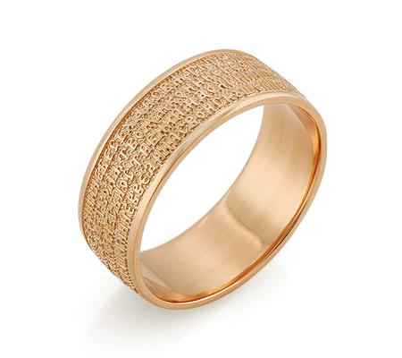 Фото«RG-4175»Православное кольцо с молитвой из золота