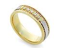 Обручальные кольца с бриллиантами; Код: RG-V1010; Вес: 4.42г; 24750р.