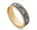 Обручальные кольца оригинальные; Код: RG-V1027; Вес: 5.79г; 22000р.