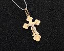 Кресты и крестики мужсике и женские; Код: UV-1008mb-136; Вес: 1.36г; 3800р.
