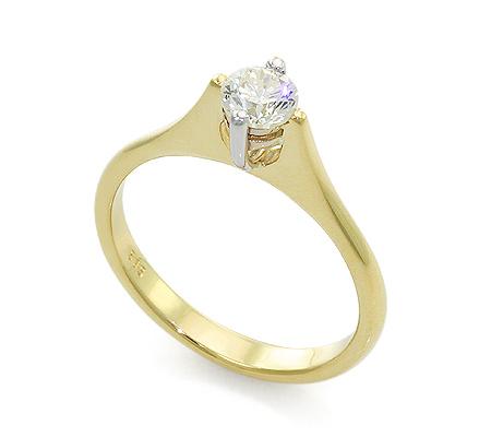 Фото«UV-20022303» Кольцо с бриллиантом